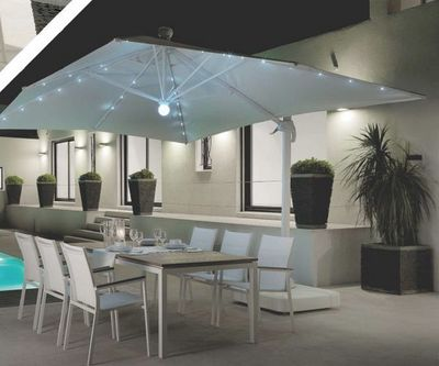 ITALY DREAM DESIGN - Parasol lumineux-ITALY DREAM DESIGN-Led