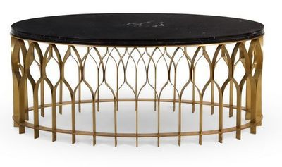 BRABBU - Table basse ovale-BRABBU-MECCA II