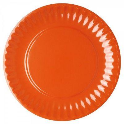 La Chaise Longue - Assiette plate-La Chaise Longue-Set de 4 assiettes Malibu assorties
