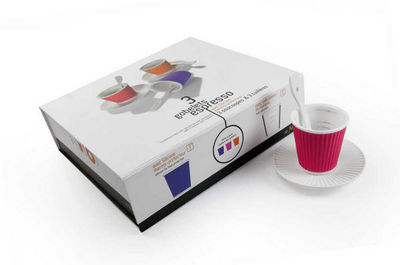 LES ARTISTES PARIS - Tasse à café-LES ARTISTES PARIS-Coffret 3 gobelets expresso