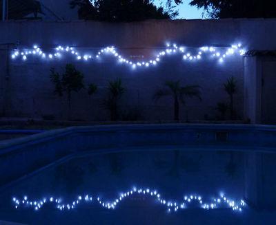FEERIE SOLAIRE - Guirlande lumineuse-FEERIE SOLAIRE-Guirlande solaire blanche à clignotements 100 leds