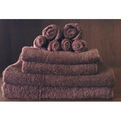 TODAY - Serviette de toilette-TODAY-Set serviettes de bain cacao