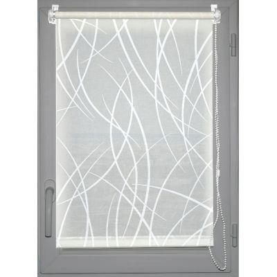 Luance - Store occultant-Luance-Store enrouleur tamisant imprim� 60x180cm blanc