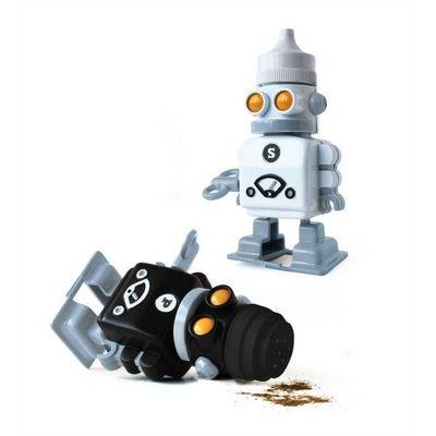 Suck Uk - Salière et poivrière-Suck Uk-Sel et poivre robot