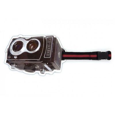 INVOTIS - Etiquette de bagage-INVOTIS-Porte étiquette ancien appareil photo