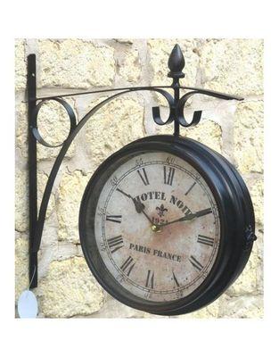 L'HERITIER DU TEMPS - Horloge murale-L'HERITIER DU TEMPS-Horloge Murale Double Face 28cm