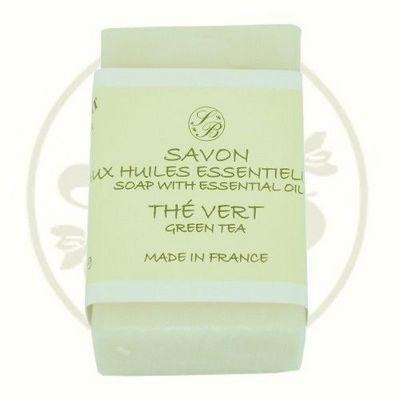 Savonnerie De Bormes - Savon-Savonnerie De Bormes-Savon pur végétal aux HE - Thé vert - 100 gr - Sav