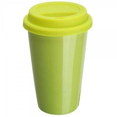 La Chaise Longue - Mug isotherme-La Chaise Longue-Mug porcelaine isotherme vert