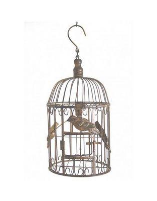 L'HERITIER DU TEMPS - Cage à oiseaux-L'HERITIER DU TEMPS-Cage à oiseaux ronde - 43 cm