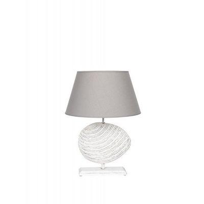 BLANC D'IVOIRE - Lampe à poser-BLANC D'IVOIRE-EMPREINTE