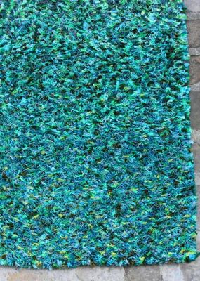 An Vert Du Design - Tapis contemporain-An Vert Du Design-Touffou Vert