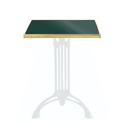 Ardamez - Plateau de table bistrot-Ardamez-Plateau de table de bistrot émaillée / vert