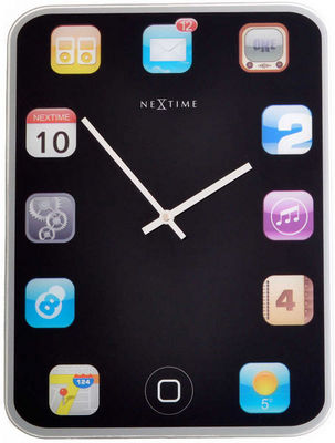 Nextime - Horloge murale-Nextime-Horloge design Tablette tactile