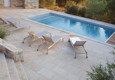KEI STONE - Plage de piscine-KEI STONE-Montfort