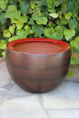 Les Poteries Clair de Terre - Pot de jardin-Les Poteries Clair de Terre-Roc