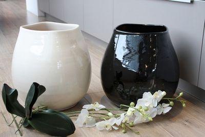 Les Poteries Clair de Terre - Vase à fleurs-Les Poteries Clair de Terre-Maé