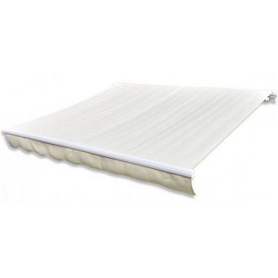 WHITE LABEL - Store banne-WHITE LABEL-Store banne manuel de jardin r�tractable 3 x 2,5 m auvent tonnelle pavillon