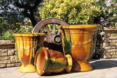 Les Poteries D'albi - Pot de jardin-Les Poteries D'albi-Pied Guirlande