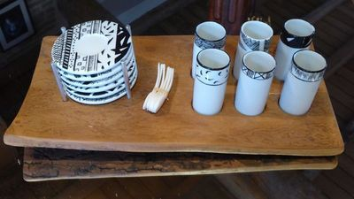 Tywacs Créations - Service à café-Tywacs Créations-Prêt-à-servir