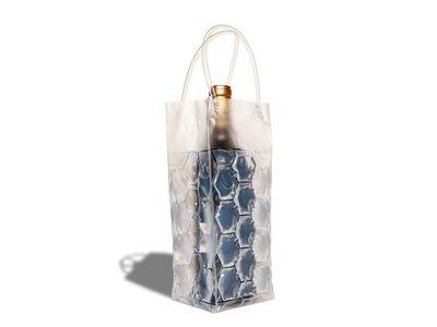 WHITE LABEL - Rafraîchisseur à bouteille-WHITE LABEL-Sac réfrigérant - refroidisseur de boisson transpa