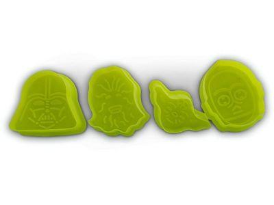 WHITE LABEL - Moule à gâteau-WHITE LABEL-4 emporte-pièces biscuit en forme des personnages