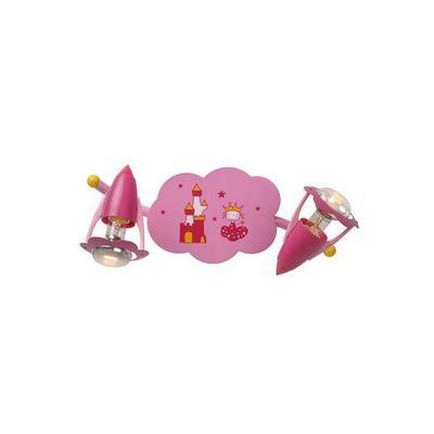 LUCIDE - Luminaire enfant-LUCIDE-Applique enfant Pinky 2 lampes