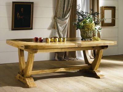 Ateliers De Langres - Table de repas rectangulaire-Ateliers De Langres-NOGENT