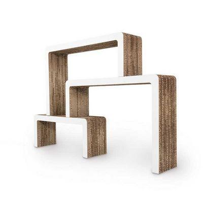Corvasce Design - Bibliothèque ouverte-Corvasce Design-Libreria in cartone