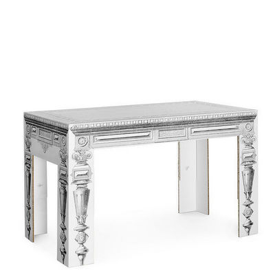 Corvasce Design - Table bureau-Corvasce Design-Tavolo in Cartone Luigi XVI