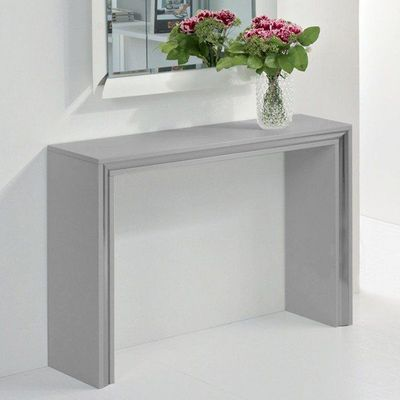 WHITE LABEL - Console-WHITE LABEL-Console design ARCHIMEDE grise