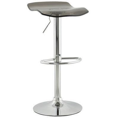 KOKOON DESIGN - Chaise haute de bar-KOKOON DESIGN-Tabouret de bar plexiglass Surf Smoke