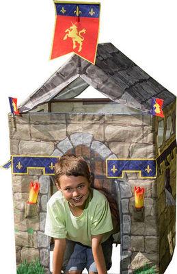 Traditional Garden Games - Tente enfant-Traditional Garden Games-Tente de jeu Chevalier avec accessoires 78x78x115c