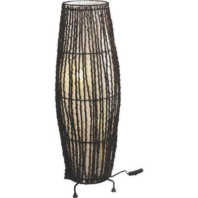 Aubry-Gaspard - Lampe à poser-Aubry-Gaspard-Lampe en coco et coton
