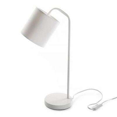 VERSA - Lampe à poser-VERSA-Lampe de table blanche Buddy