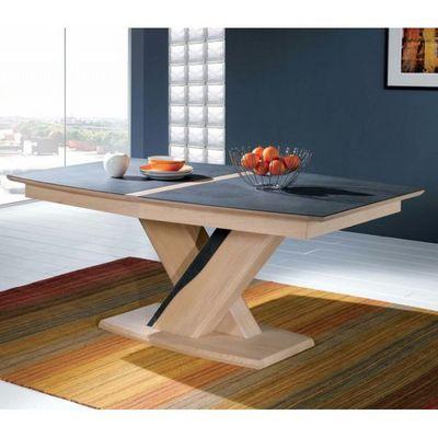 Ateliers De Langres - Table de repas rectangulaire-Ateliers De Langres-Table tonneau CERAM