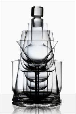 GUILLAUME DELVIGNE - Service de verres-GUILLAUME DELVIGNE-Horizon / Cristal de S�vres