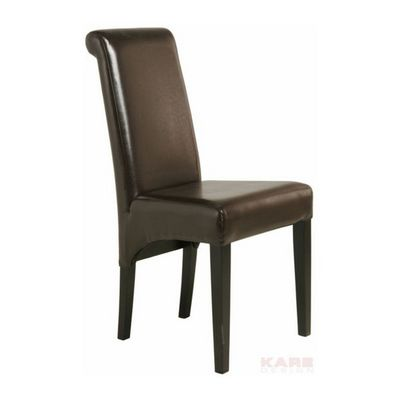 Kare Design - Chaise-Kare Design-Chaise Isis Coffee Bomber Cuir