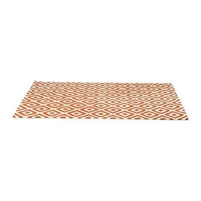 Kare Design - Tapis contemporain-Kare Design-Tapis Design Rhomb orange 170x240cm