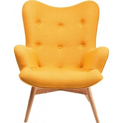 Kare Design - Fauteuil-Kare Design-Fauteuil Design Angels Wings jaune