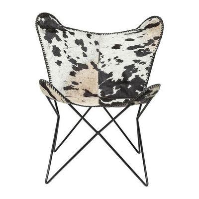 Kare Design - Fauteuil-Kare Design-Fauteuil Papillon Butterfly Cow
