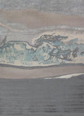 EDITION BOUGAINVILLE - Tapis contemporain-EDITION BOUGAINVILLE-Fjord topaze