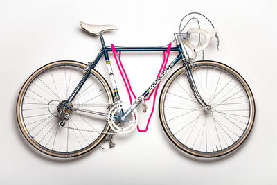 ROSS DOLTON - Porte-vélos-ROSS DOLTON-deer bike rack - fur