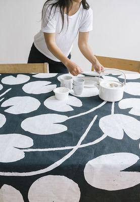 FINE LITTLE DAY - Nappe et serviettes assorties-FINE LITTLE DAY-Water lilies