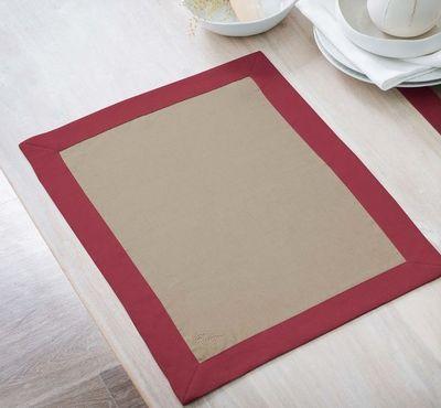BLANC CERISE - Set de table-BLANC CERISE-Delices