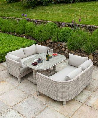 Alexander Rose - Salon de jardin-Alexander Rose-Lounge ocean--