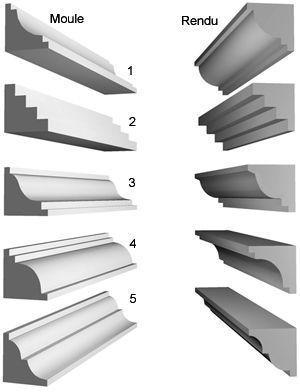 moule coffrage corniche de fa ade blanc polystyrene. Black Bedroom Furniture Sets. Home Design Ideas