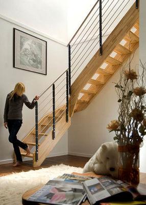 NOVALINEA - Escalier un quart tournant-NOVALINEA-STYLE