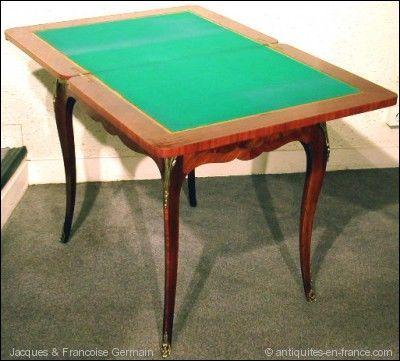 ANTIQUE GERMAIN - Table de jeux-ANTIQUE GERMAIN