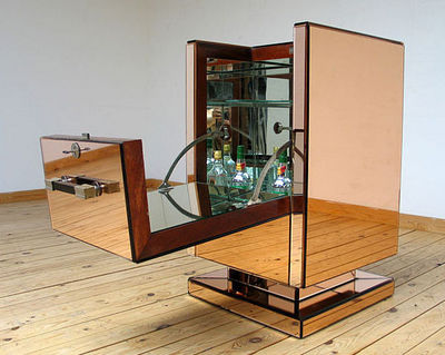 FURNITURE-LOVE.COM - Meuble bar-FURNITURE-LOVE.COM-Art Deco Bar or Cocktail storage René Drouet
