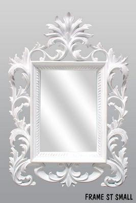 DECO PRIVE - Miroir-DECO PRIVE-MIROIR BEAUTY BLANC SCULPTE